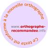 orthographe rectifiée